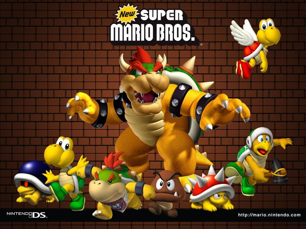 Dan Dare Org New Super Mario Bros Wallpaper 2 1024 X 768 Pixels