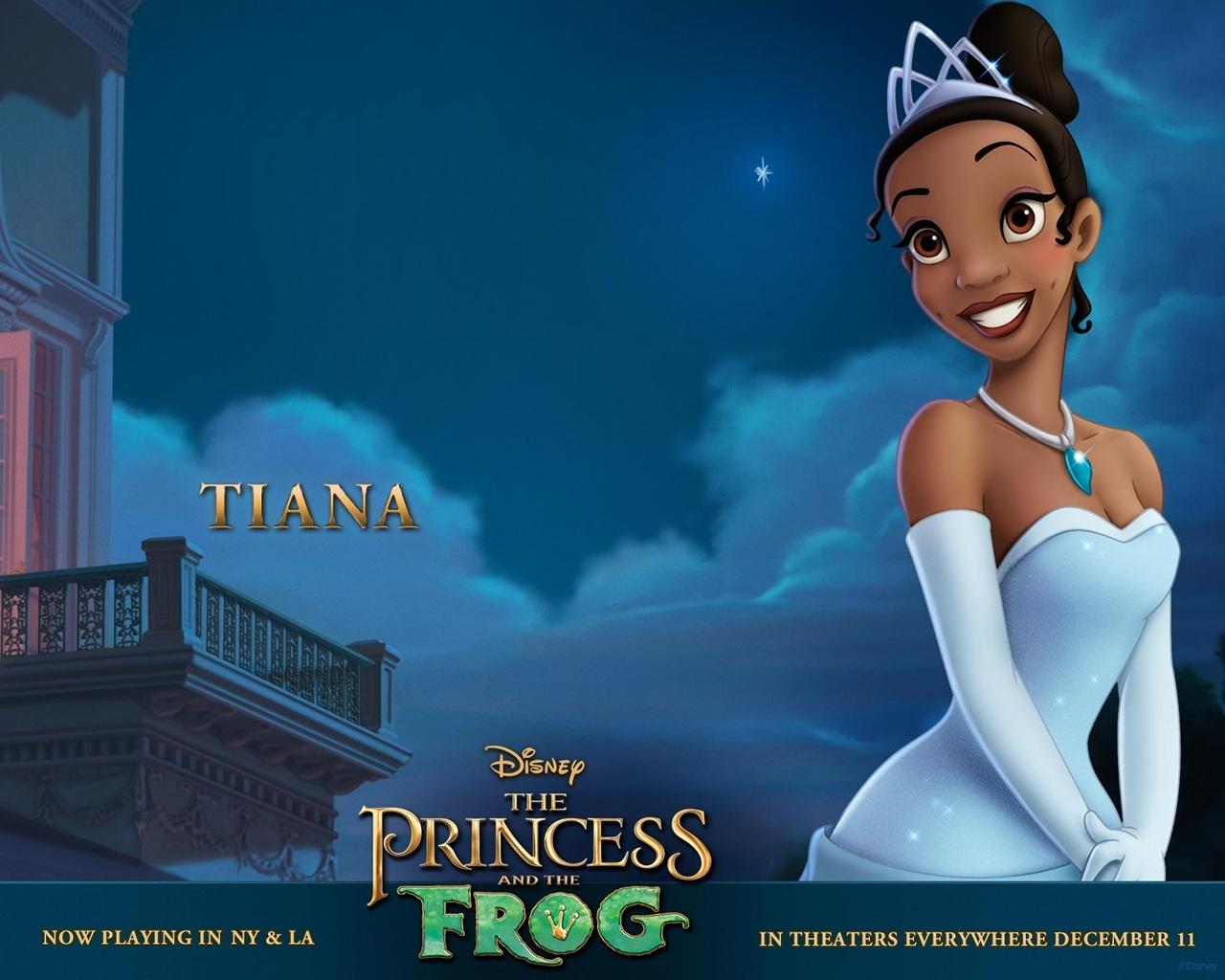 The Princess And The Frog Tiana Wallpaper 1280 X 1024 Pixels