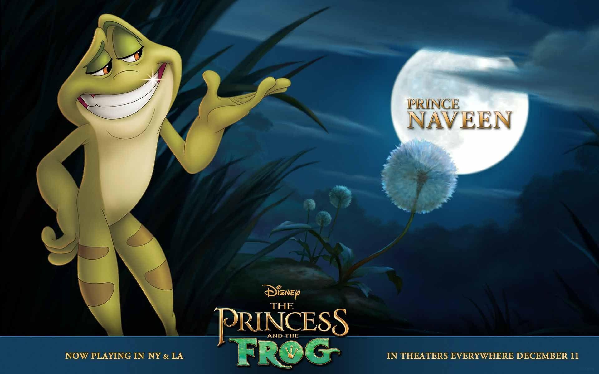 The Princess And The Frog Prince Naveen Wallpaper 1920 X 1200