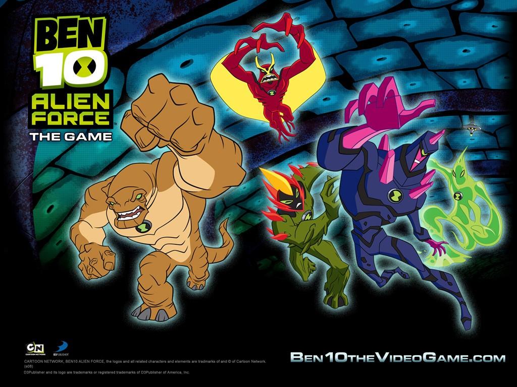 Ben 10 Alien Force Wallpaper 1024 X 768 Pixels