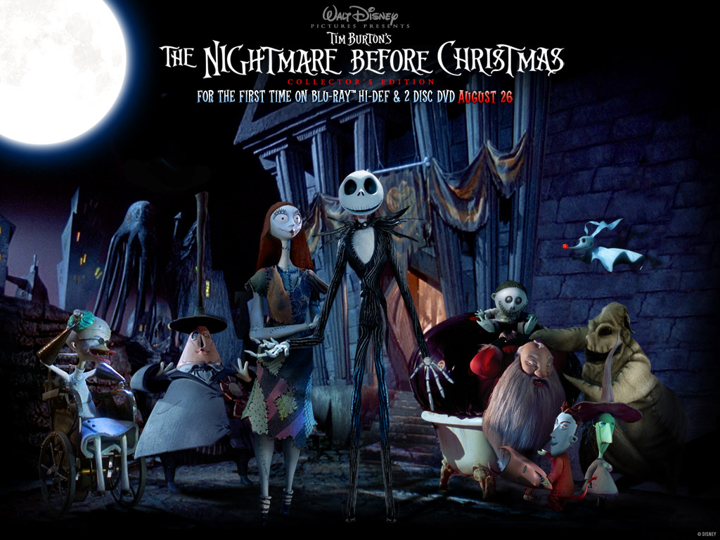 The Nightmare Before Christmas Wallpaper 1024 X 768 Pixels