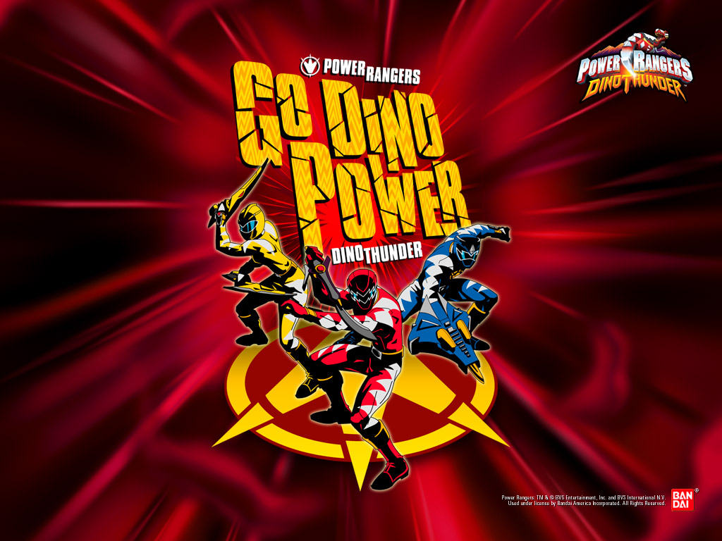 Power Rangers Dino Thunder Wallpaper Number 1 1024 X 768 Pixels