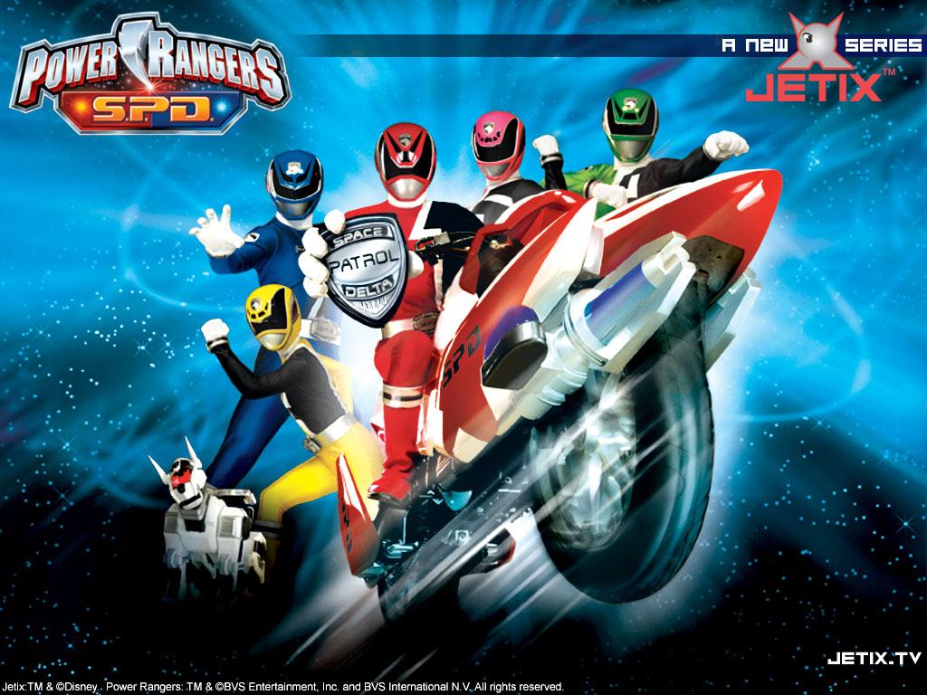 Power Rangers S P D Wallpaper 1024 X 768 Pixels