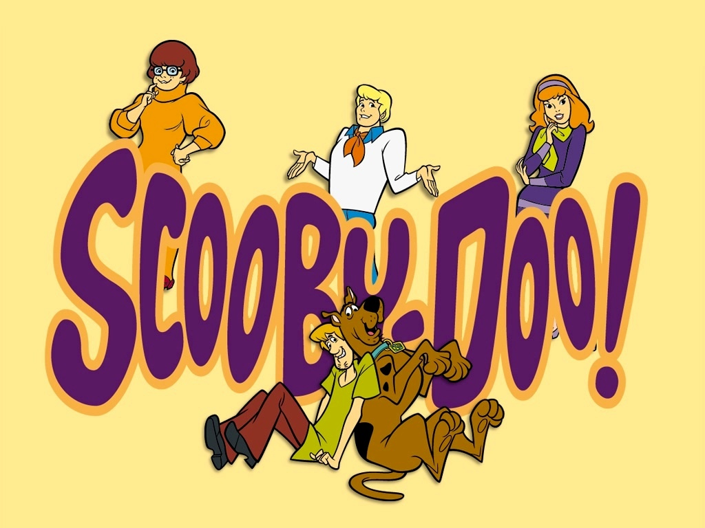 scooby-doo wallpaper (1024 x 768 pixels)