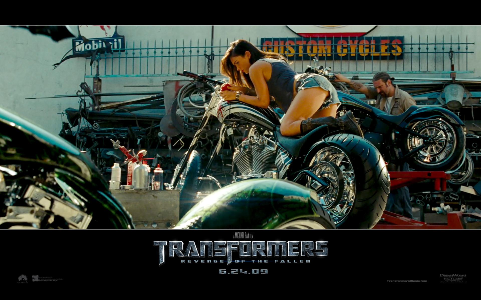 Transformers Revenge Of The Fallen Megan Fox Wallpaper Number 2