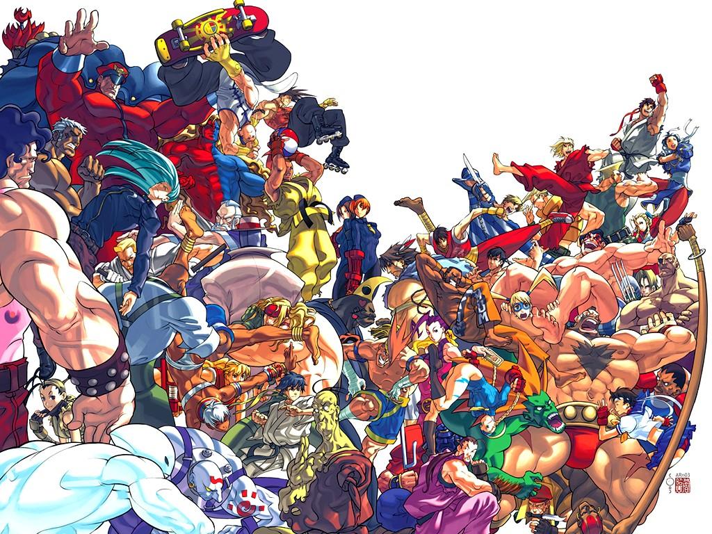 Street Fighter Wallpaper 1024 X 768 Pixels