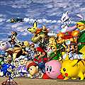 """Click here to play the Flash game """"Super Smash Flash"""" (""""Super Smash Bros. Brawl"""" - includes 2-player option)"""