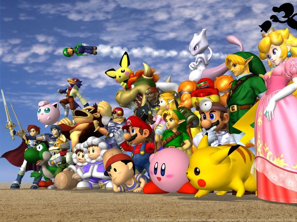 Super Smash Bros Melee Wallpaper 1024 X 768 Pixels